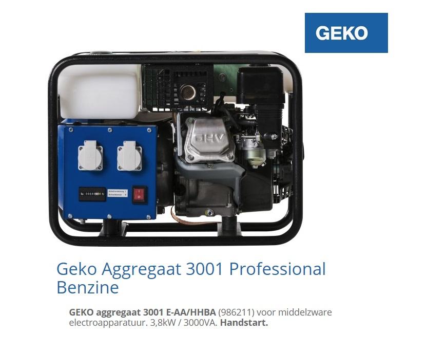Aggregaat 3001 E-AA | DKMTools - DKM Tools