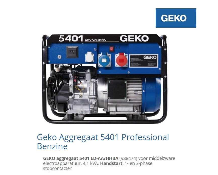 Aggregaat 5401 ED-AA-HHBA | DKMTools - DKM Tools