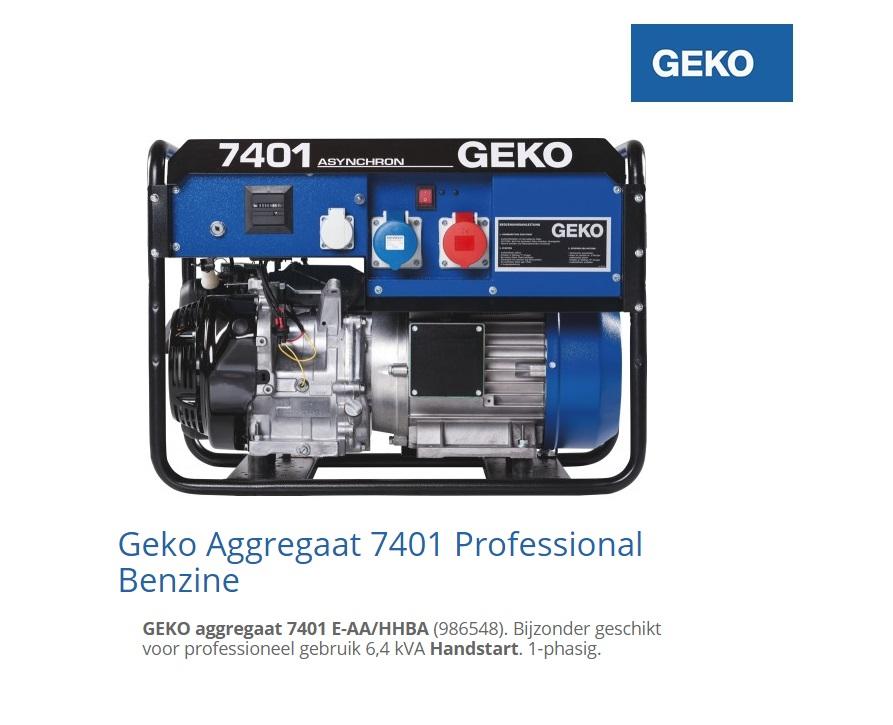 Aggregaat 7401 E-AA-HHBA | DKMTools - DKM Tools