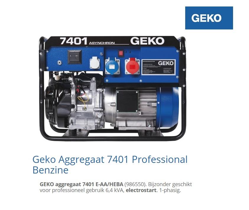 Aggregaat 7401 E-AA-HEBA | DKMTools - DKM Tools