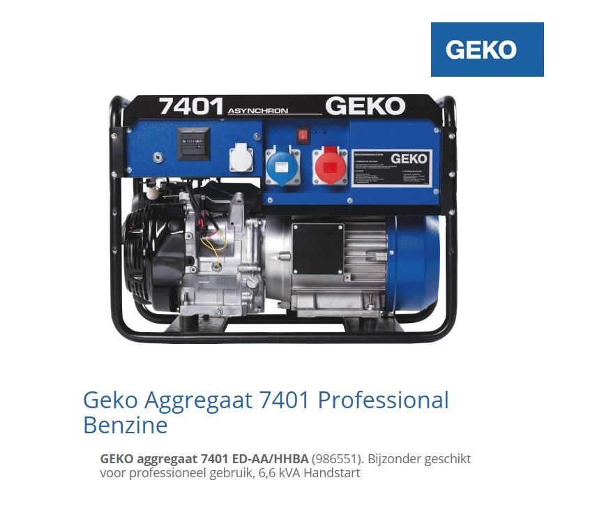 Aggregaat 7401 ED-AA-HHBA | DKMTools - DKM Tools