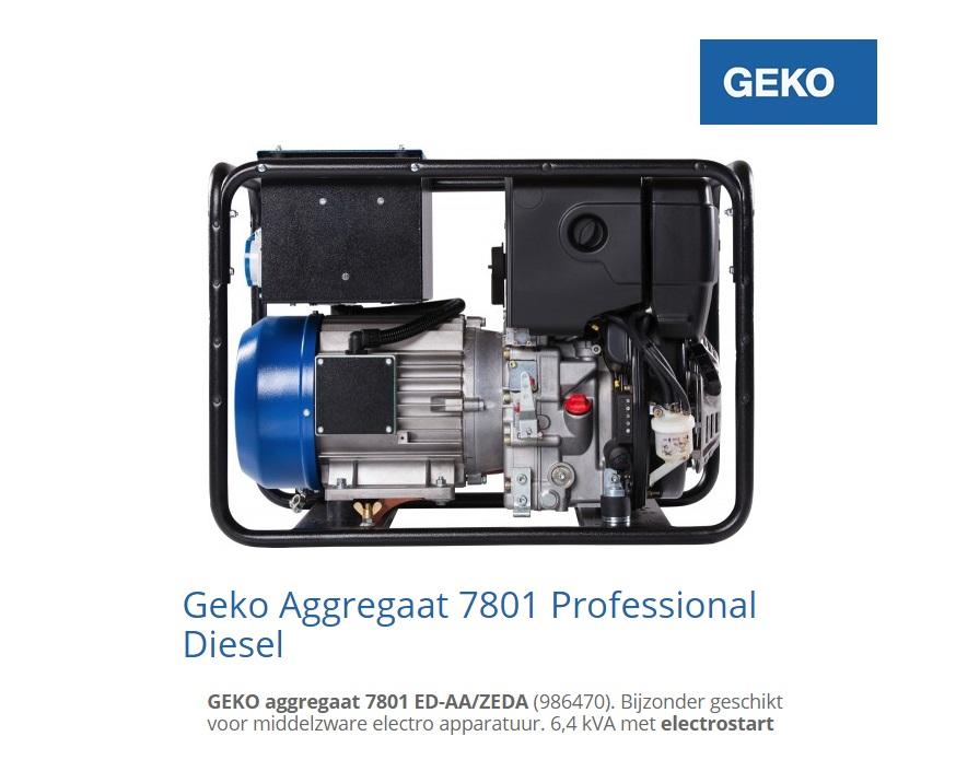 Diesel Aggregaat 7801 ED-AA-ZEDA | DKMTools - DKM Tools