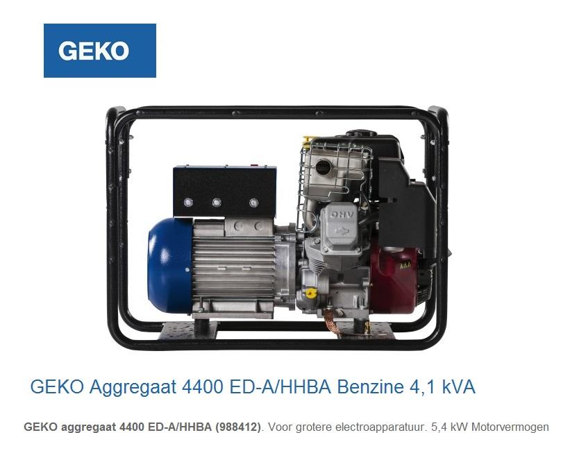 Geko Aggregaat The Robusts 4400 ED-A-HHBA | DKMTools - DKM Tools