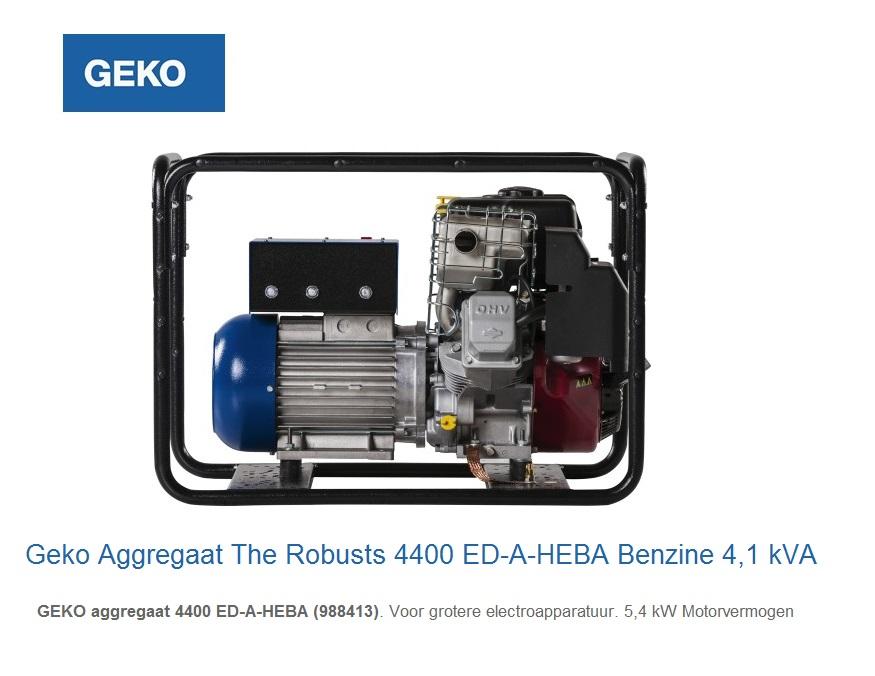 Geko Aggregaat The Robusts 4400 ED-A-HEBA | DKMTools - DKM Tools