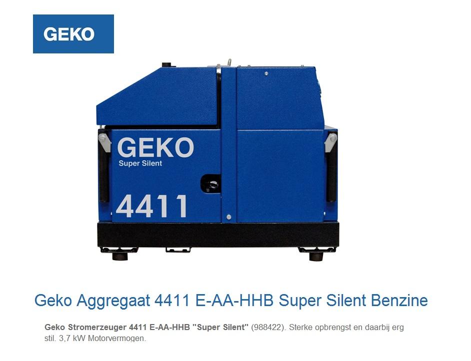 Super silent Benzine Aggregaat 4411 E-AA-HHBA SS | DKMTools - DKM Tools