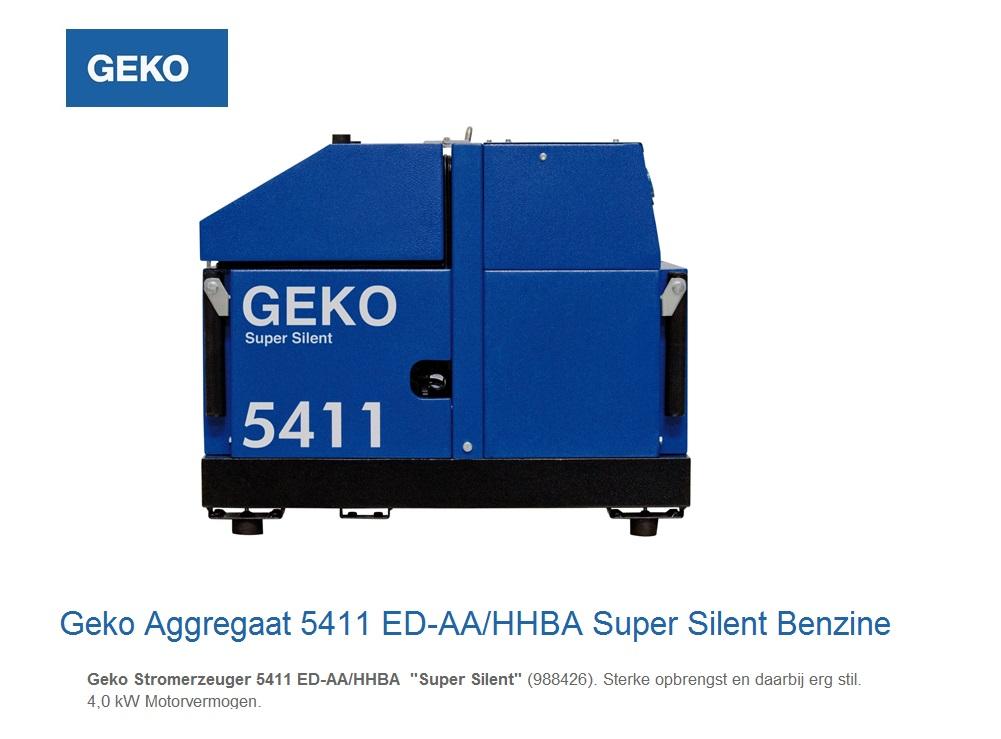 Super silent Benzine Aggregaat 5411 ED-AA-HHBA SS | DKMTools - DKM Tools