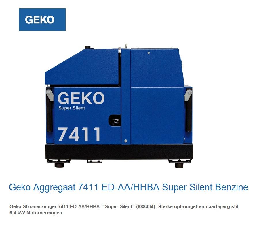 Super silent Benzine Aggregaat 7411 ED-AA-HHBA SS | DKMTools - DKM Tools