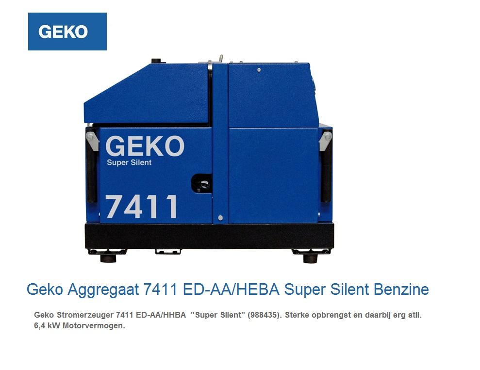 Super silent Benzine Aggregaat 7411 ED-AA-HEBA SS | DKMTools - DKM Tools