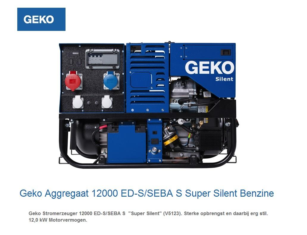 Super silent Benzine Aggregaat 12000 ED-S-SEBA S | DKMTools - DKM Tools