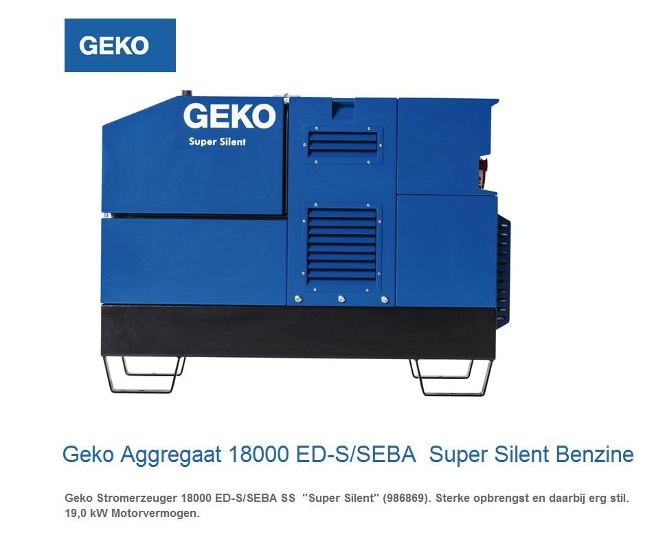 Super silent Benzine Aggregaat 18000 ED-S-SEBA SS | DKMTools - DKM Tools