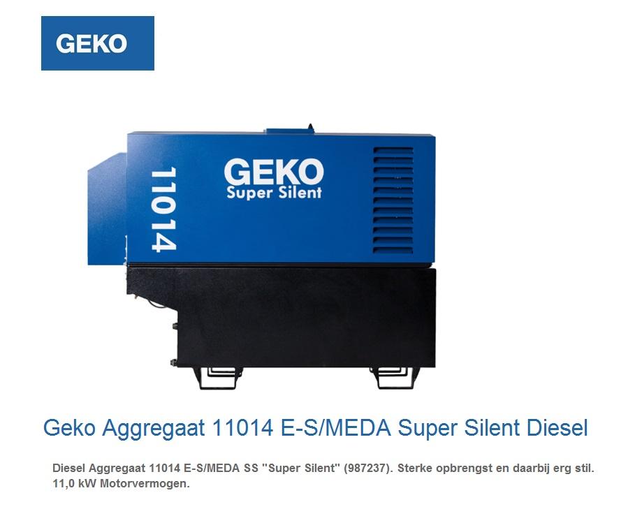 Super silent Diesel Aggregaat 11014 E-S-MEDA SS | DKMTools - DKM Tools