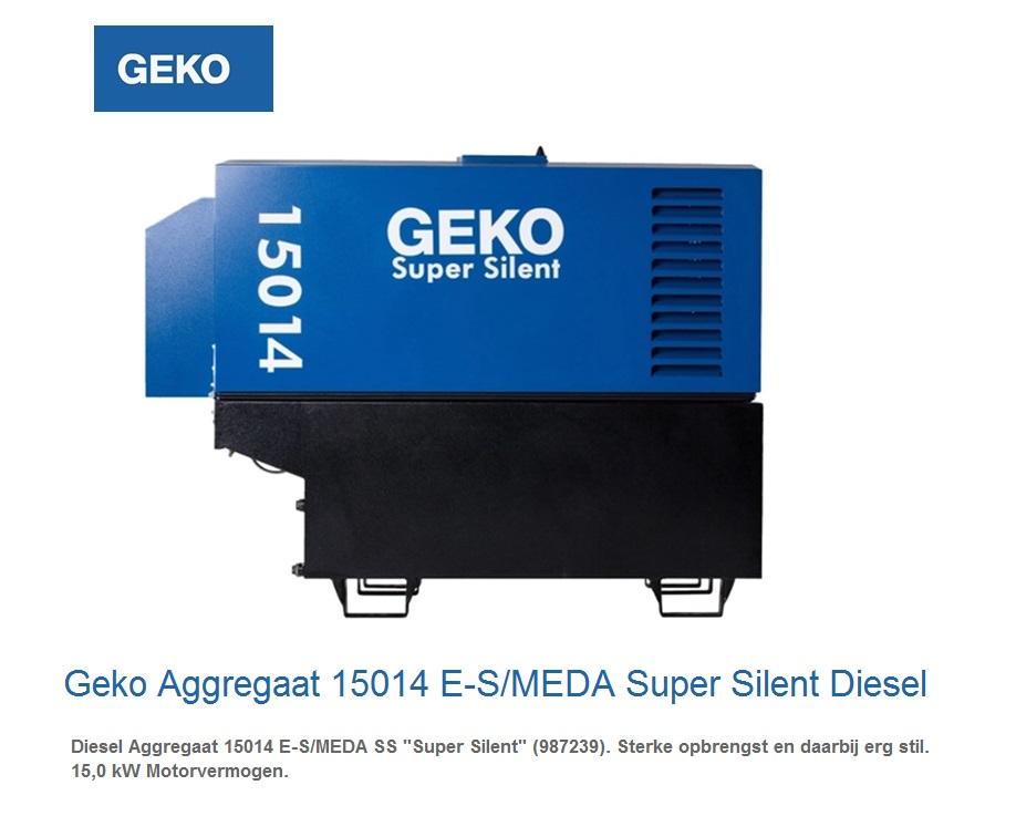 Super silent Diesel Aggregaat 15014 E-S-MEDA SS | DKMTools - DKM Tools