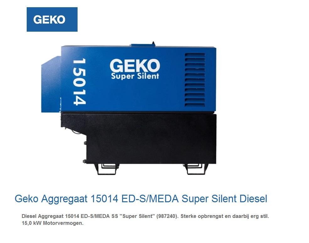 Super silent Diesel Aggregaat 15014 ED-S-MEDA SS | DKMTools - DKM Tools