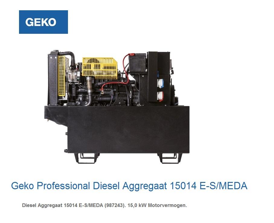 Professional Diesel Aggregaat 15014 E-S-MEDA | DKMTools - DKM Tools