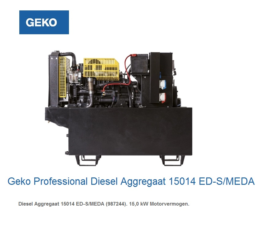 Professional Diesel Aggregaat 15014 ED-S-MEDA | DKMTools - DKM Tools