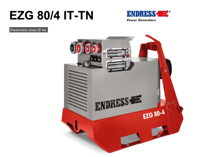 Aftakas generator EZG 80-4 II-TN-S | DKMTools - DKM Tools