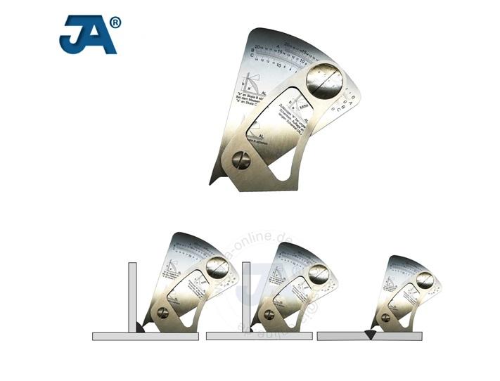 Hoeklasmeter rvs model waaier | DKMTools - DKM Tools