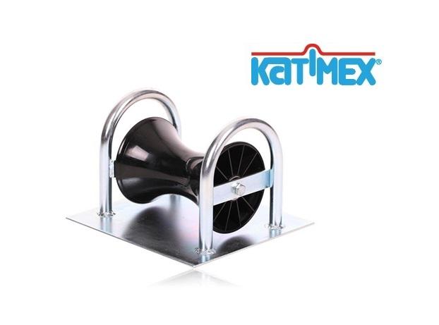 Kabelrol Staal mosterdpot met bodemplaat   DKMTools - DKM Tools
