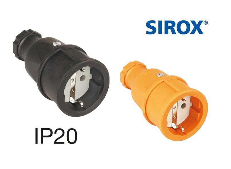 Rubber contrastekker met polyamide inzetstuk IP20 | DKMTools - DKM Tools