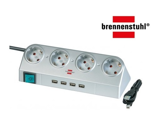 Desktop Power met schakelaar en USB Hub 2.0 | DKMTools - DKM Tools