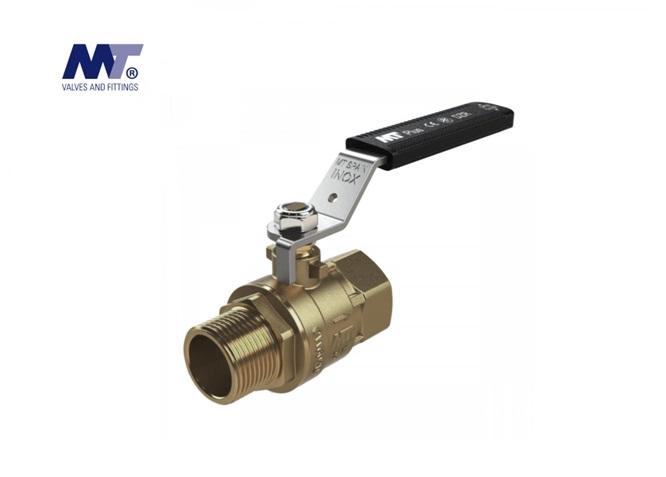 Kogelkraan messing bi-bu PN 40 | DKMTools - DKM Tools