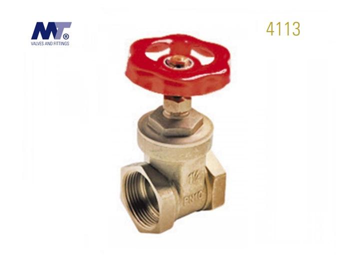 Messing schuifafsluiter Binnen-Binnen 4113 | DKMTools - DKM Tools