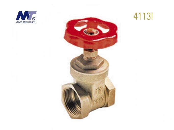 Messing schuifafsluiter Binnen-Binnen 4113L | DKMTools - DKM Tools