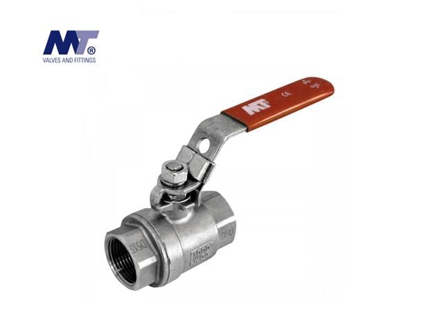 Kogelkraan RVS 316 2-delig BSP | DKMTools - DKM Tools