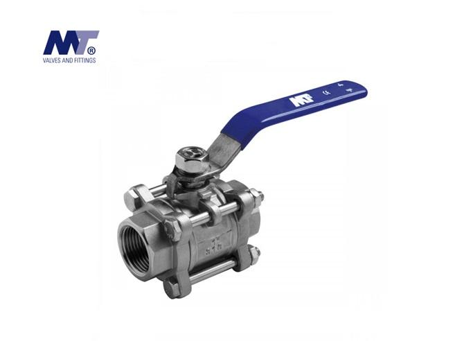 Kogelkraan RVS 316 3-delig | DKMTools - DKM Tools