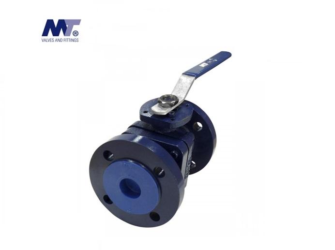 Tweedelige kogelkraan gietijzer flens PN16 | DKMTools - DKM Tools