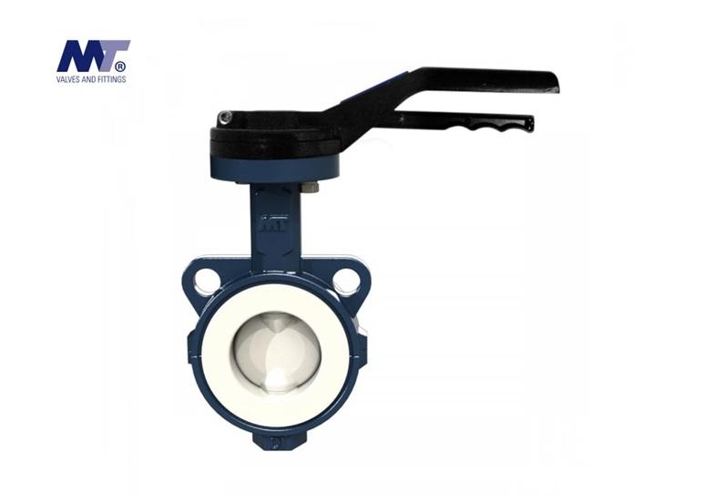 Vlinderkleppen Wafer Type 51143 PTFE | DKMTools - DKM Tools