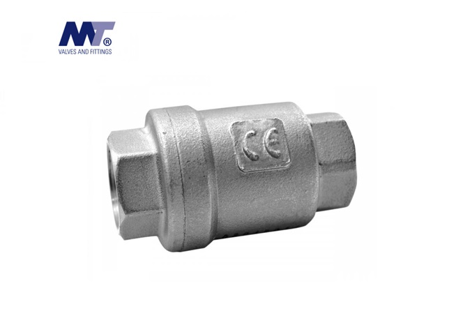 Terugslagklep 2-delig AISI-316 BSP   DKMTools - DKM Tools