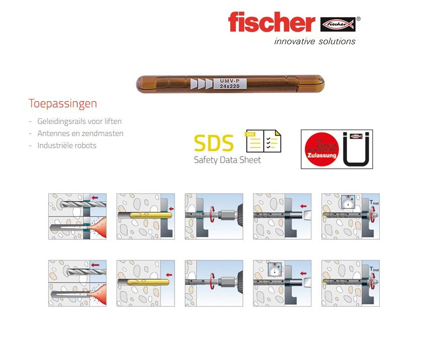 Fischer UMV Multicone glascapsule   DKMTools - DKM Tools