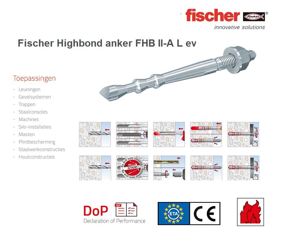 Fischer Highbond anker FHB II-A L ev   DKMTools - DKM Tools