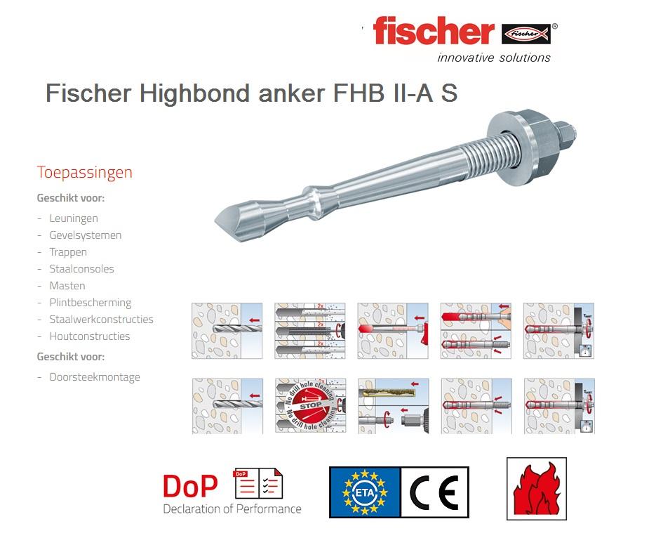Fischer Highbond anker FHB II-A S   DKMTools - DKM Tools