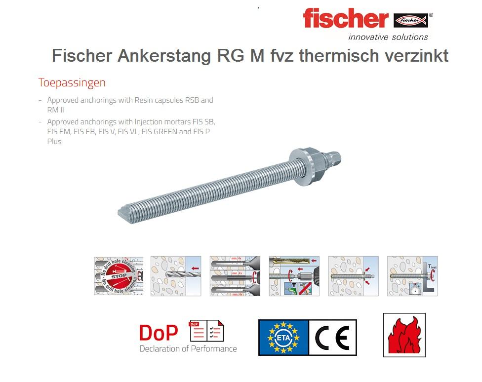 Fischer Draadstang RG M FVZ   DKMTools - DKM Tools