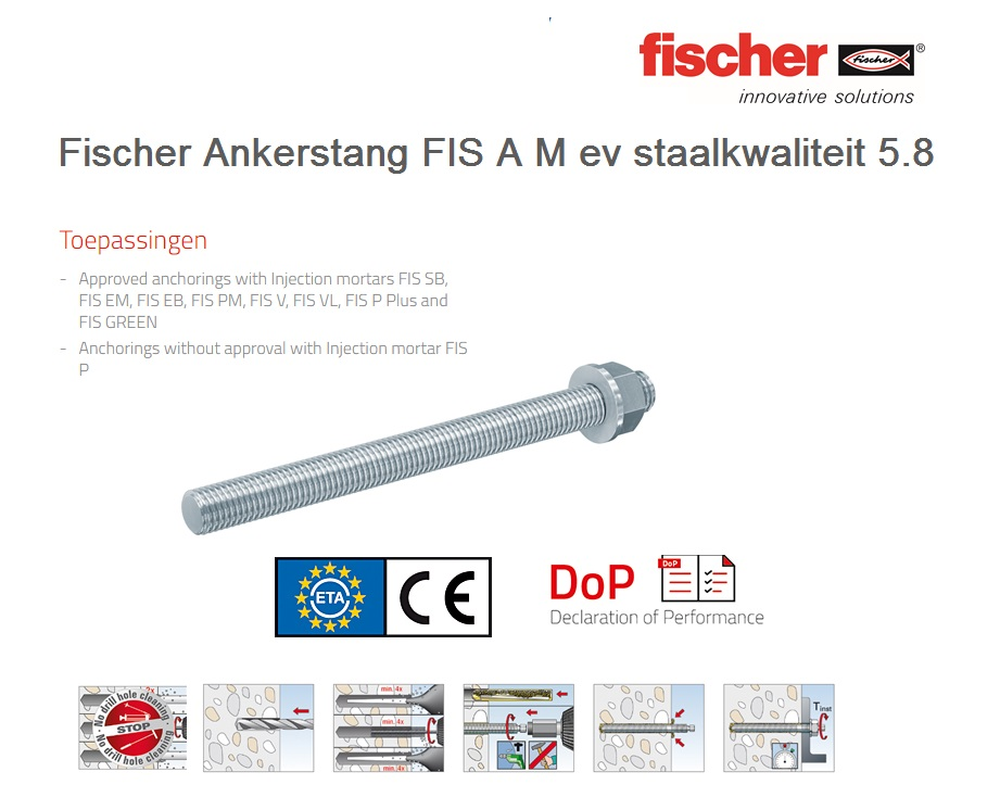 Fischer Draadstang FIS A 5.8   DKMTools - DKM Tools