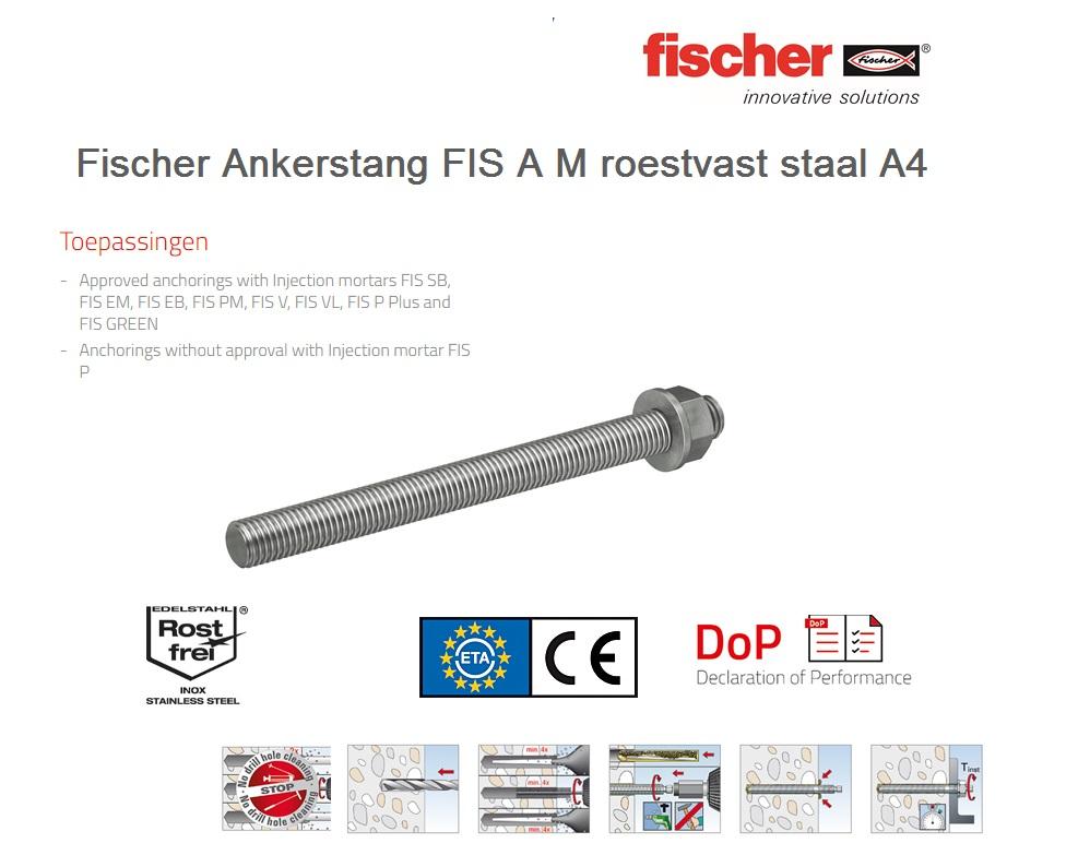 Fischer Draadstang FIS A A4   DKMTools - DKM Tools