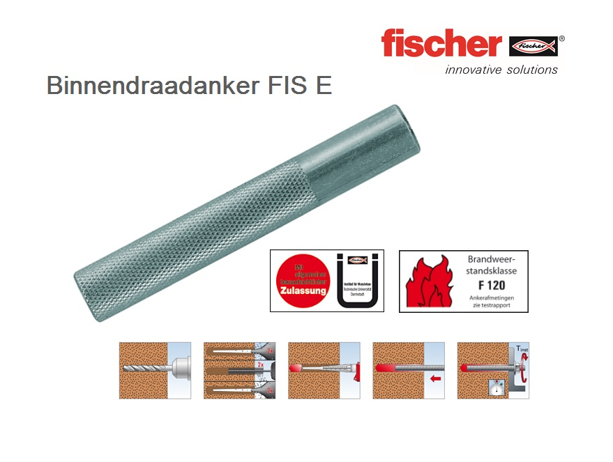 Fischer Binnendraadanker FIS E   DKMTools - DKM Tools