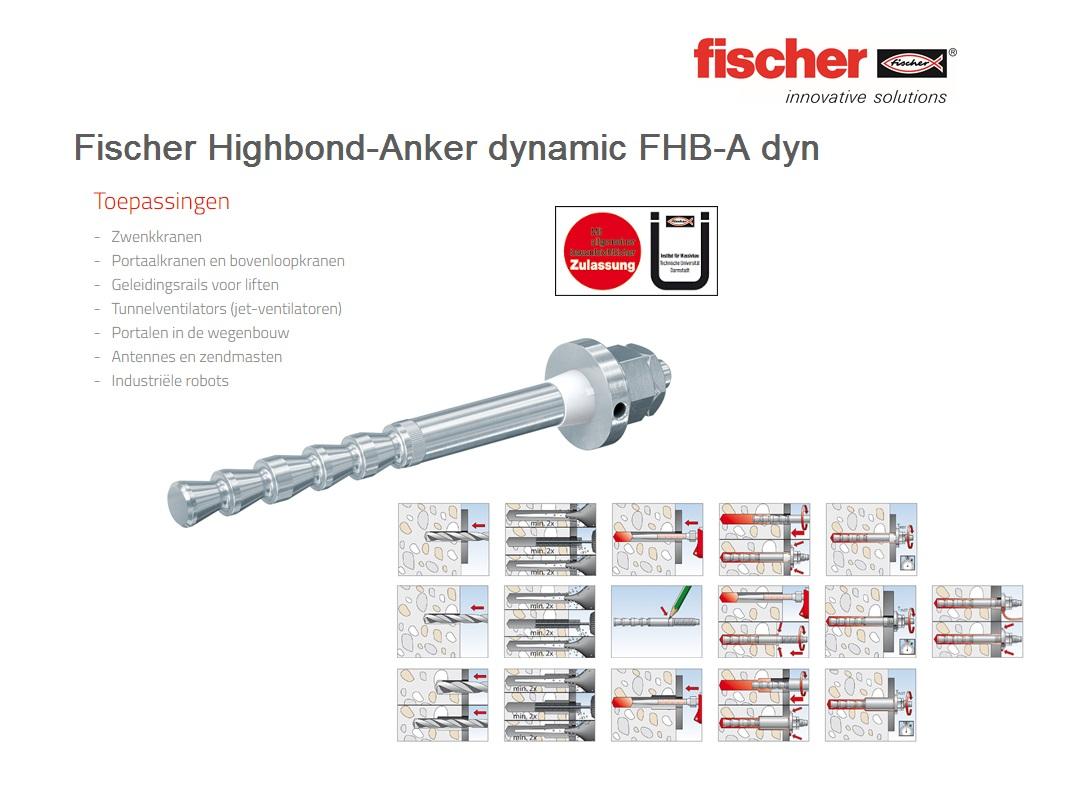 Fischer Highbond-anker dynamisch FHB-A dyn   DKMTools - DKM Tools