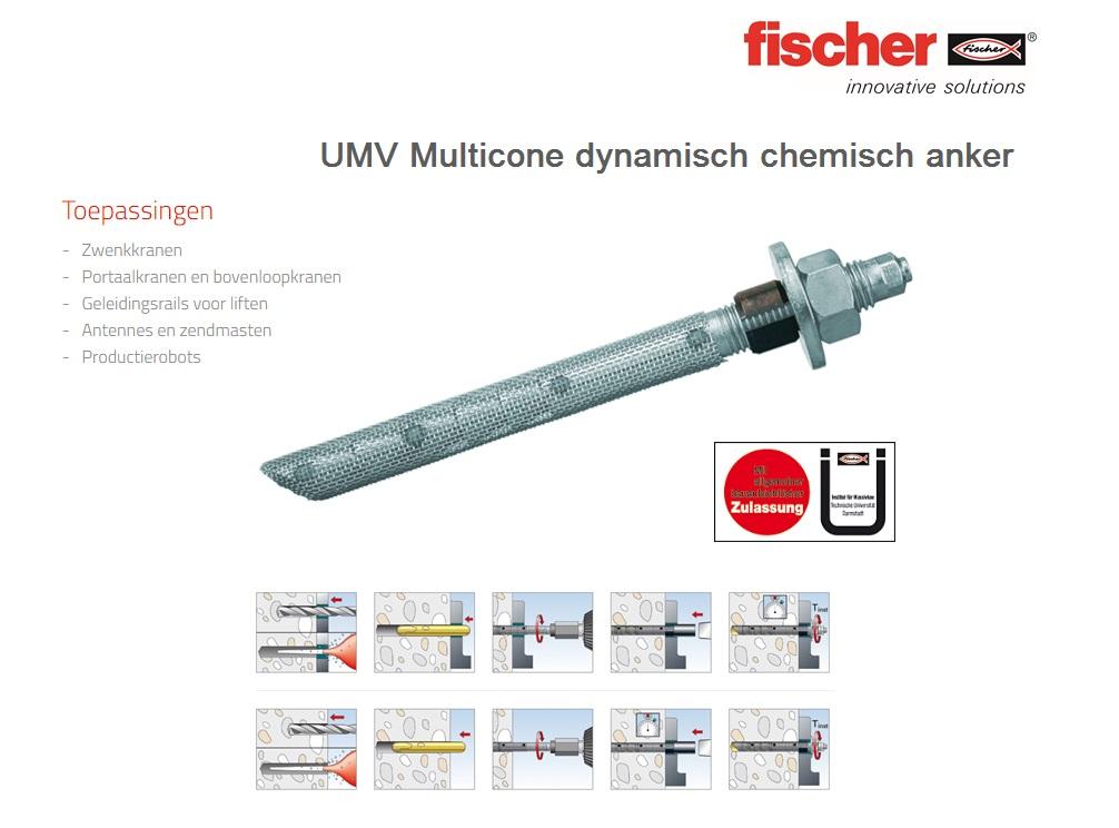 UMV Multicone dynamisch chemisch anker   DKMTools - DKM Tools