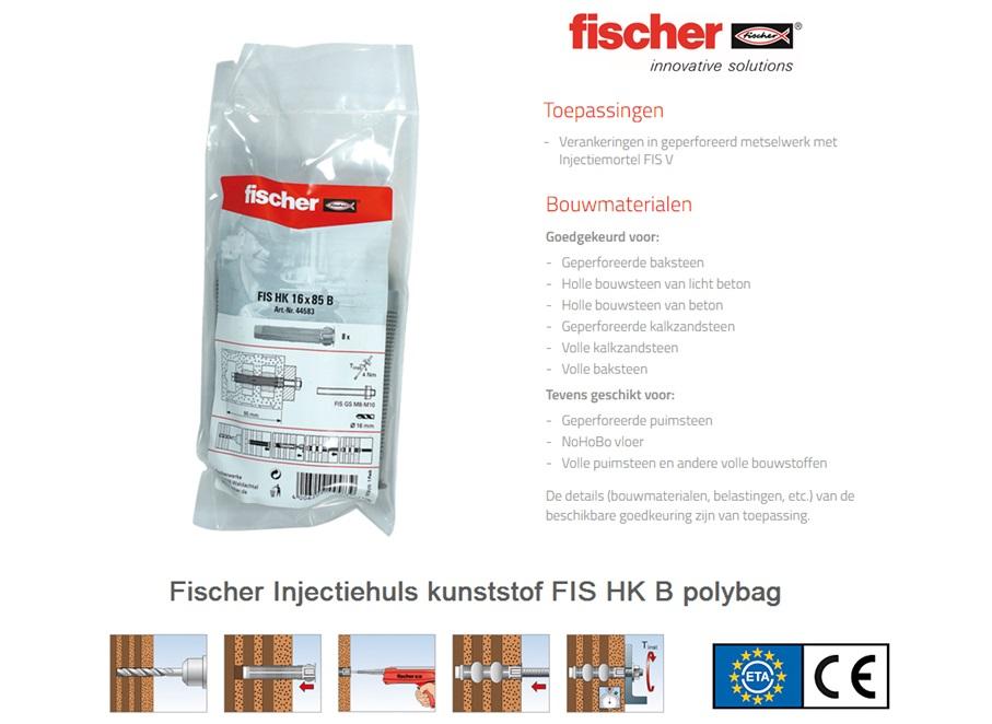 Fischer Injectiehuls FIS H K B   DKMTools - DKM Tools