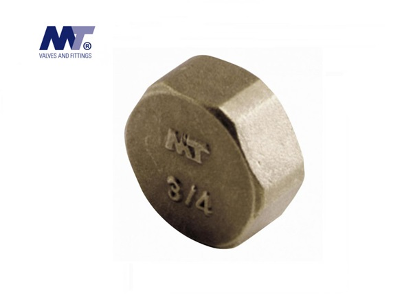 Messing Zeskant afsluitkap BSP | DKMTools - DKM Tools