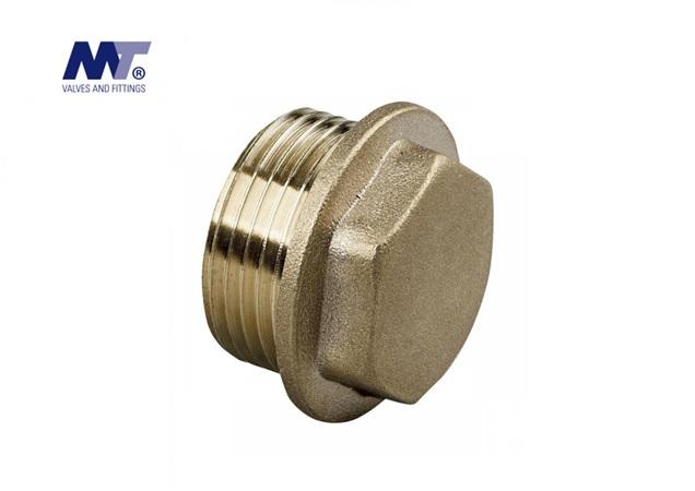 Messing Plug zeskant BSP | DKMTools - DKM Tools