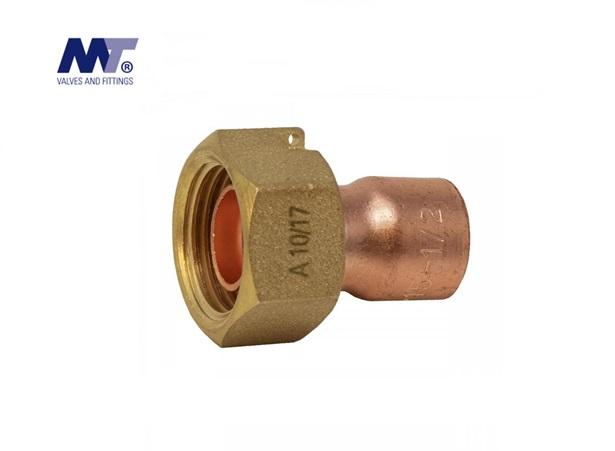 Messing Soldeer koppeling 2-delig Conisch | DKMTools - DKM Tools