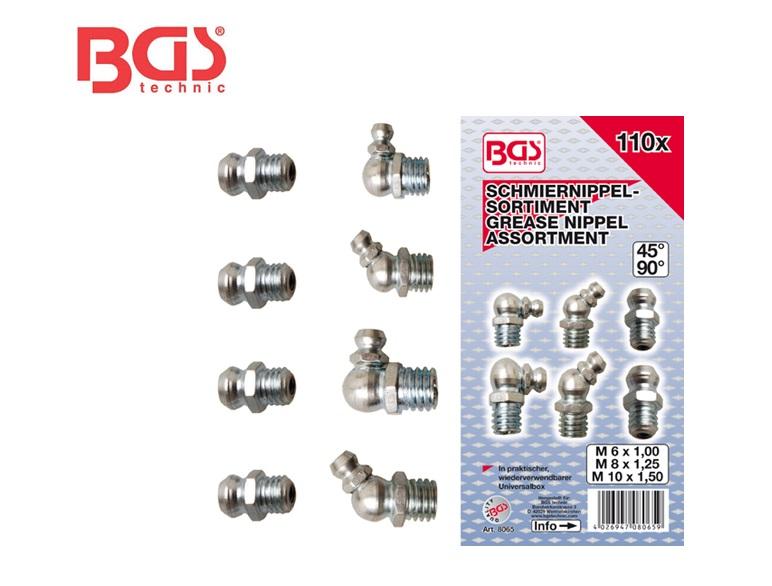 Assortiment smeernippels 110dlg | DKMTools - DKM Tools