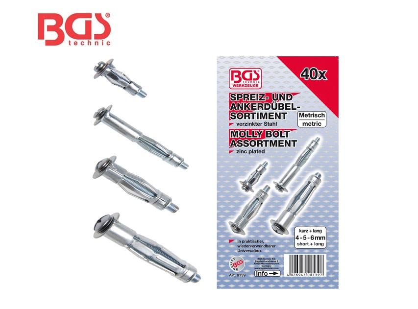Assortiment metalen spreidpluggen | DKMTools - DKM Tools